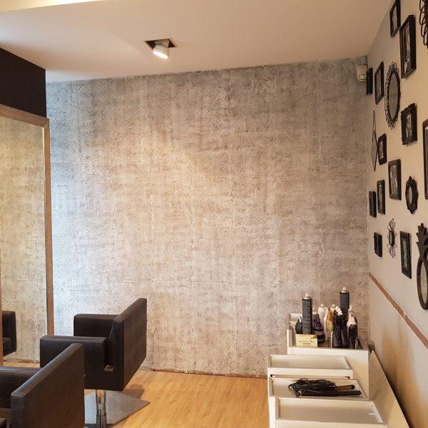 Decorazione sala parrucchiere