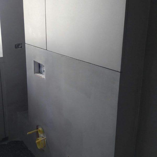 Rivestimento in resina muro