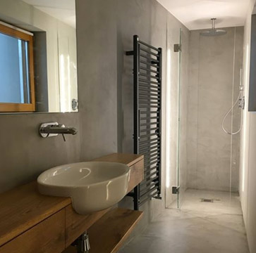 Rivestimento microcemento bagno